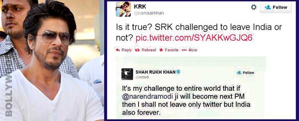 Angry Shahrukh Khan lashes out at Kamaal R Khan - Find out why!