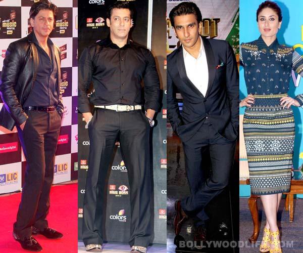Shahrukh Khan, Salman Khan, Kareena Kapoor and Ranveer Singh – meet Bollywood's latecomers!
