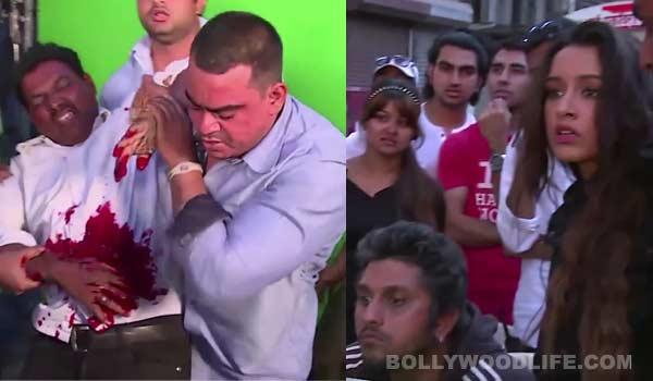 Shraddha Kapoor stabs a stuntman on the sets of Ek Villain. Stuntman hospitalised!