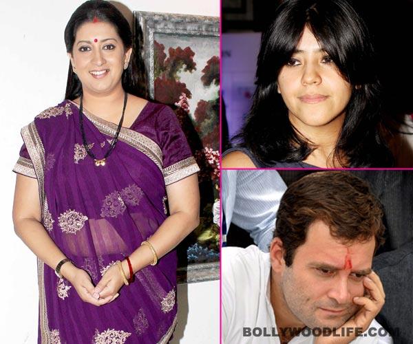 Lok Sabha election results 2014: Smriti Irani's win over Rahul Gandhi in Amethi to make Ekta Kapoor sad?