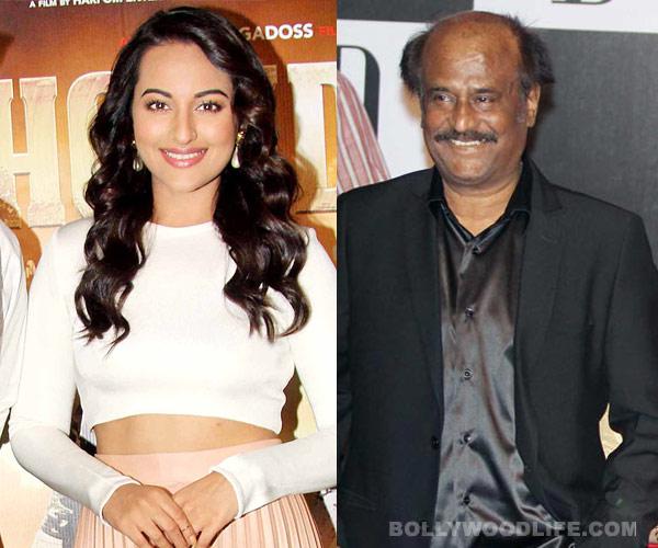 How did Sonakshi Sinha amuse Rajinikanth?