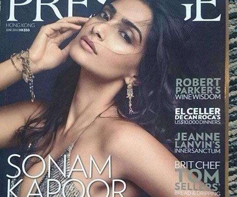 Sonam Kapoor graces the cover of Prestige magazine!