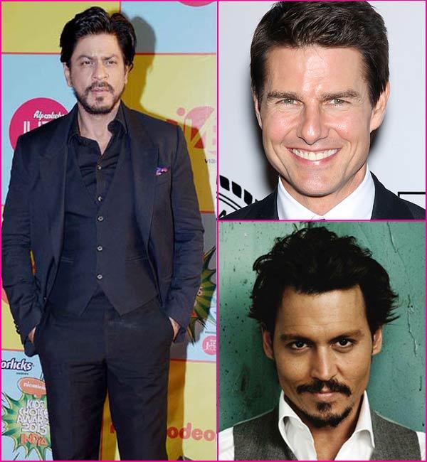 600 million dollars! Shahrukh Khan tops Tom Cruise and Johnny Depp's earnings