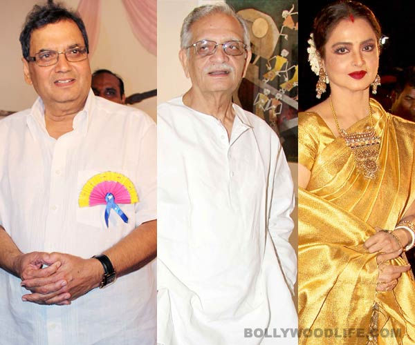 Subhash Ghai's Whistling Woods International brings Rekha and Gulzar together!
