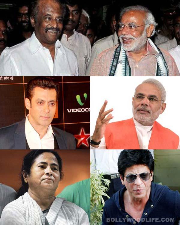 Shahrukh Khan and Salman Khan bond with political big wigs!