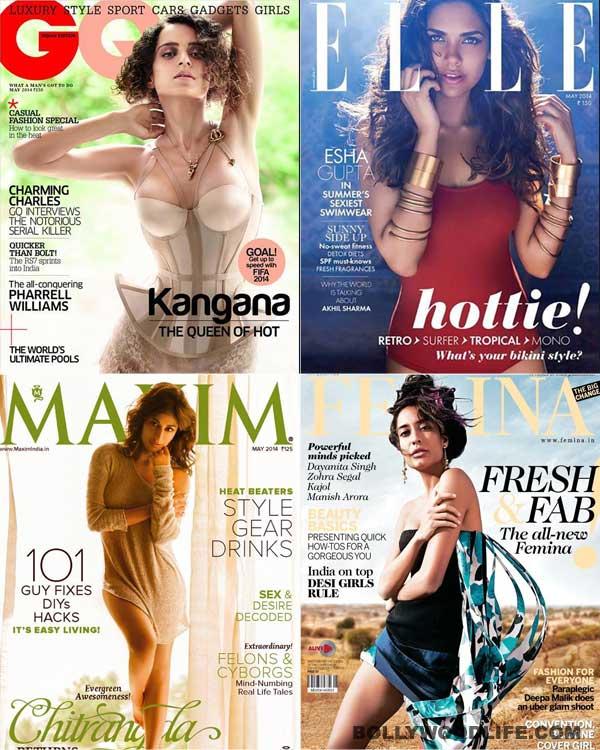 Alia Bhatt, Kangana Ranaut or Sonam Kapoor: Who is the sexiest cover girl?