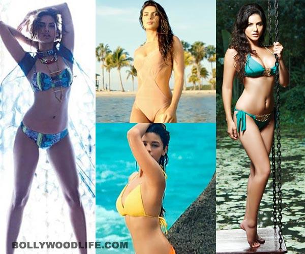 Sunny Leone, Katrina Kaif and Alia Bhatt: Up the heat with B-town's bikini babes - view pics!