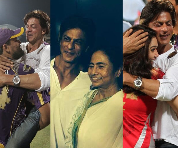 Shahrukh Khan on a hugging spree - view pics!