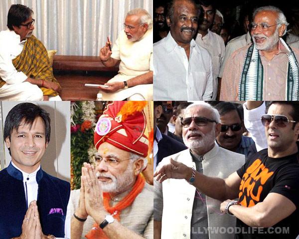 Will Amitabh Bachchan, Rajnikanth and Salman Khan attend Narendra Modi's swearing- in ceremony?