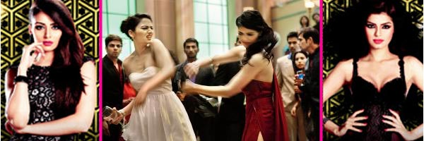 Himesh Reshammiya and Yo Yo Honey Singh's heroines in The Xpose slap each other for Kapil Sharma?
