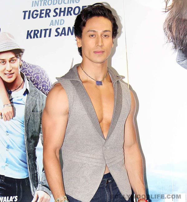 Tiger Shroff is the new pin up poster boy!