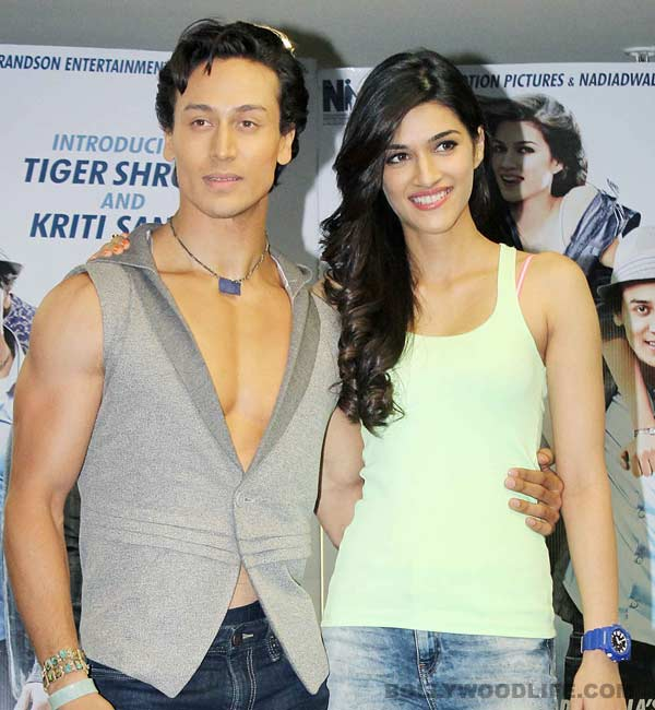 Heropanti lead Tiger Shroff and Kriti Sanon to team up again?