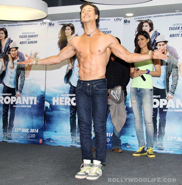How did Tiger Shroff get his name?