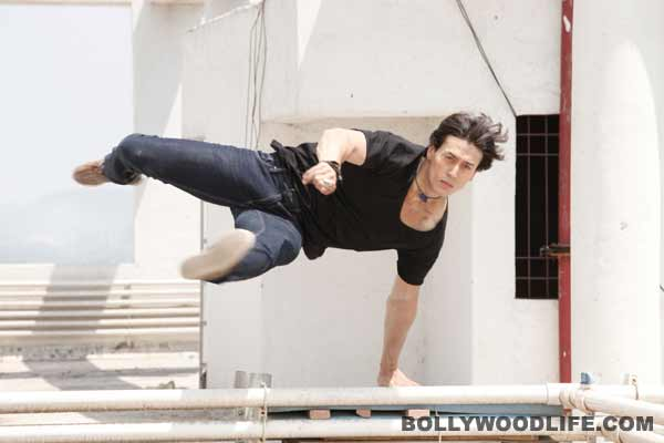Why was Tiger Shroff shivering while filming Heropanti?Watch video!