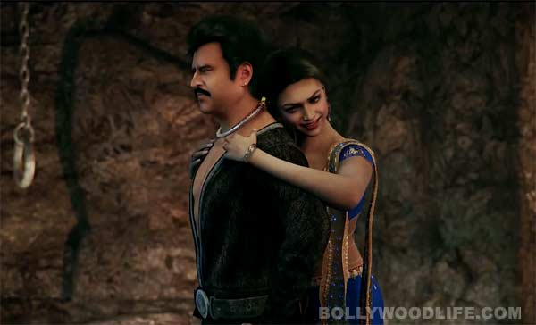 What is the highlight of Rajinikanth and Deepika Padukone's Kochadaiiyaan?
