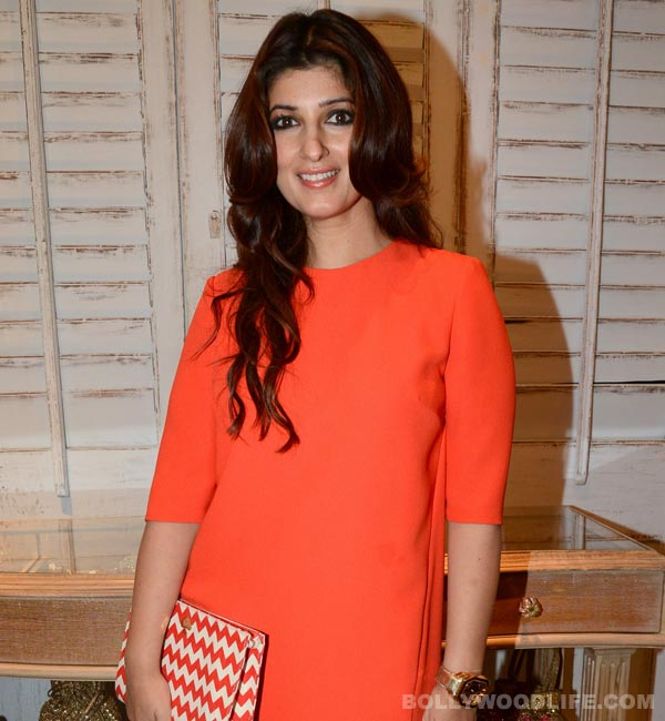 Twinkle Khanna's embarassing moment...