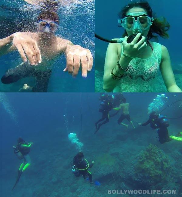 Ek Villain song Galliyan making: Sidharth Malhotra and Shraddha Kapoor have fun under water!