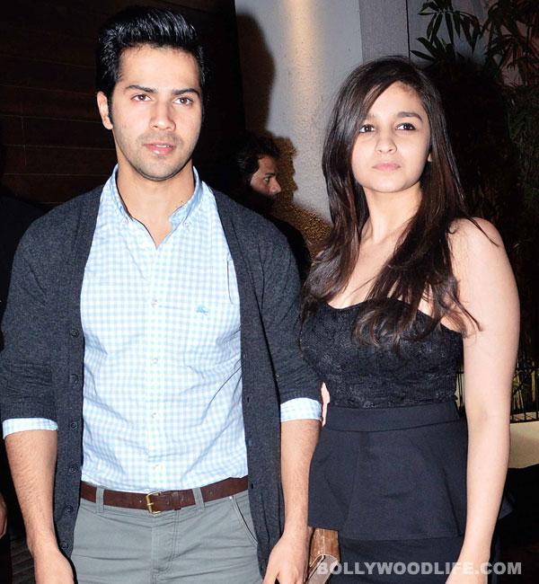 Is Alia Bhatt miffed with Varun Dhawan?
