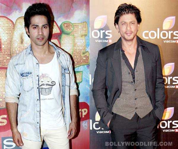 Is Varun Dhawan walking in Shahrukh Khan's footsteps?
