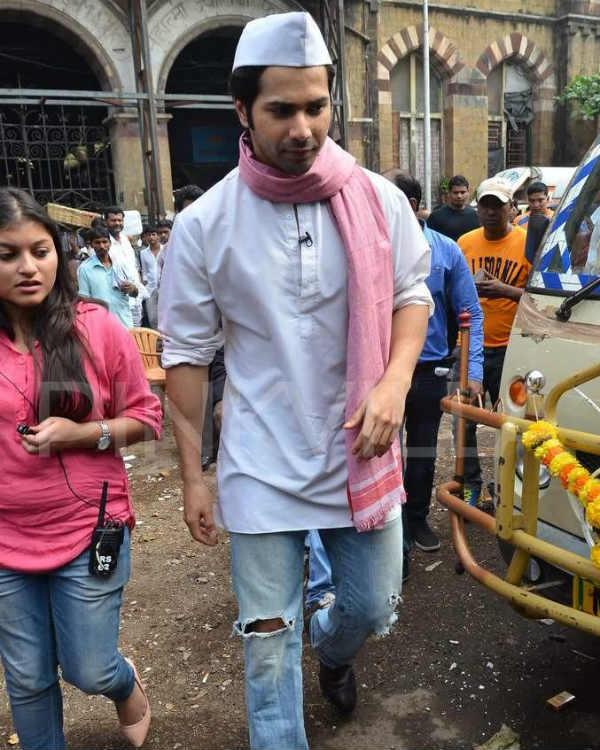 Mission Sapne: Varun Dhawan irks namkeen sellers at Crawford market – View pics!