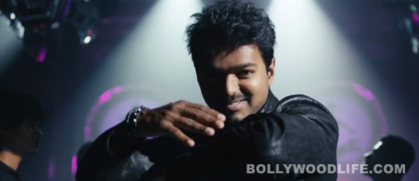 How did Vijay bring a smile on a little girl's face?