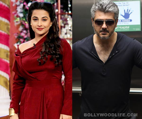 Vidya Balan to debut in Tamil cinema with Ajith?