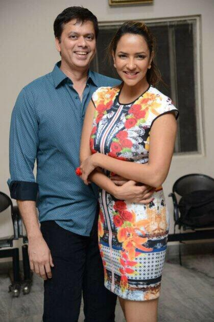 Three cheers at Lakshmi Manchu's home on Father's day!