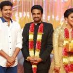 Vijay,Trisha,Karunanidhi grace Amala Paul-AL Vijay's wedding reception -view pics!