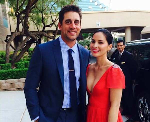 Olivia Munn and Aaron Rodgers admit being very happy together!