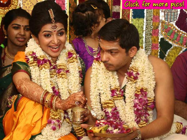 TV star Divyadarshini  ties a knot with childhood sweetheart! - View Pics