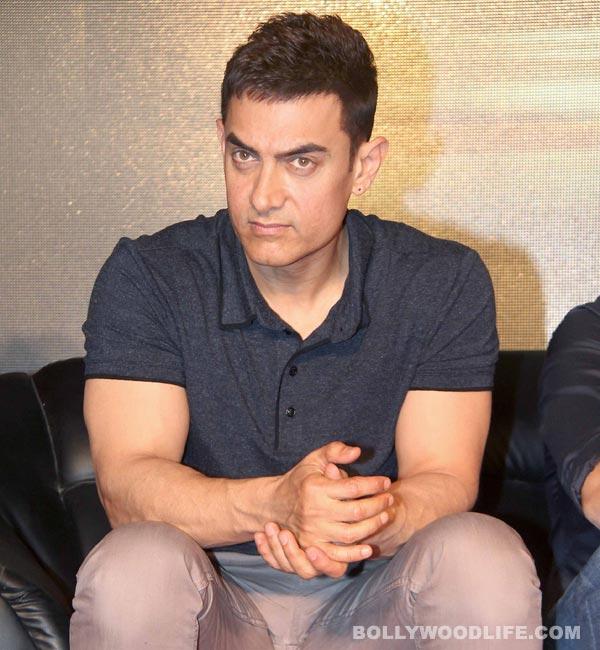Aamir Khan keeps his unreleased film's plot shrouded