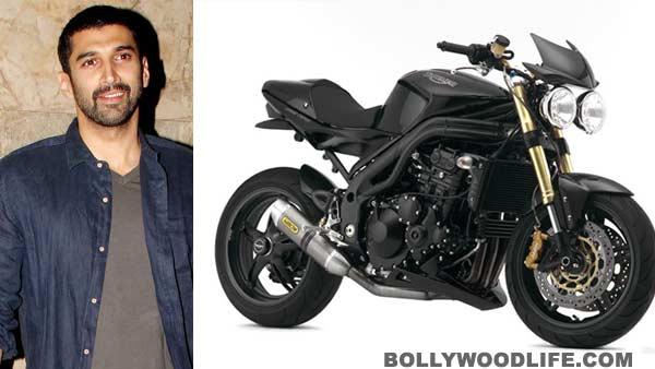Aditya Roy Kapur gifts himself a swanky new bike called the Speed Triple by Triumph