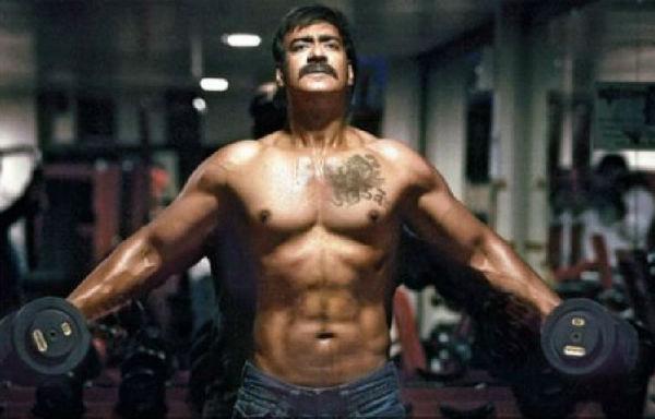Ajay Devgn turns his vanity van into a gym!