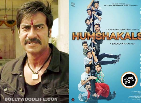 Will Ajay Devgn be upset after watching Humshakals?