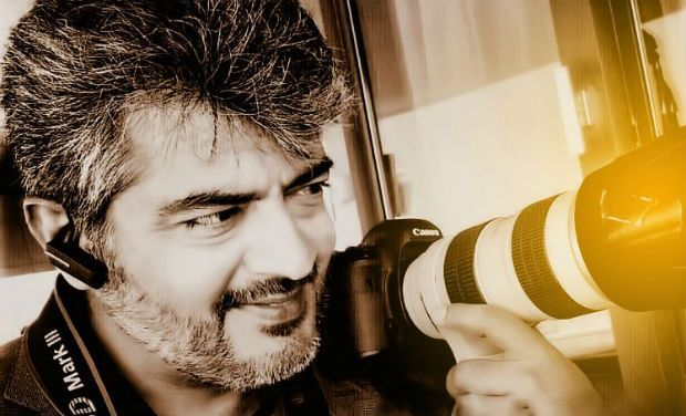 Ajith's tryst with photography!
