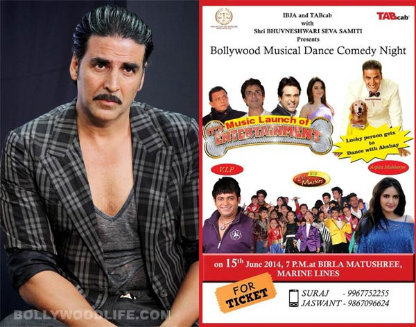 Fraudsters create a scam poster of Akshay Kumar's It's Entertainment!