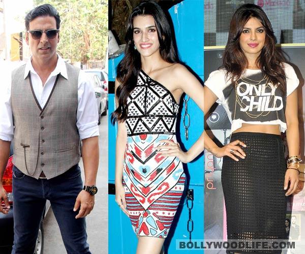 Kriti Sanon replaces Priyanka Chopra as Akshay Kumar's heroine in Singh is Bling!