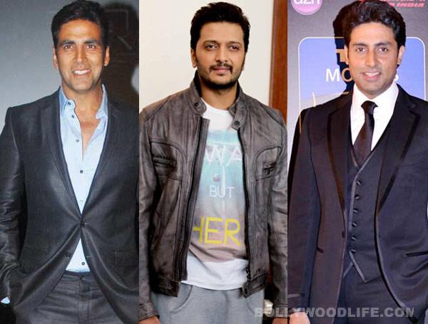 Akshay Kumar, Riteish Deshmukh and Abhishek Bachchan come together for Housefull 3