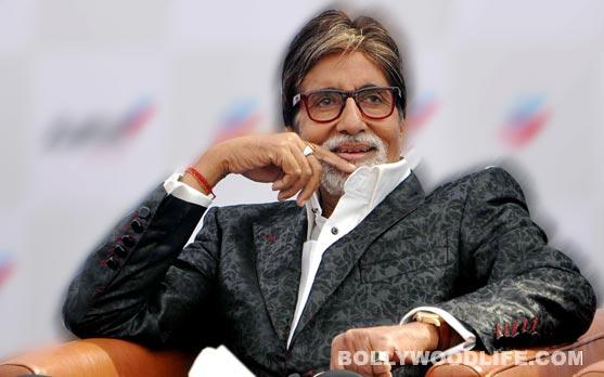 Amitabh Bachchan celebrates an odd ritual!
