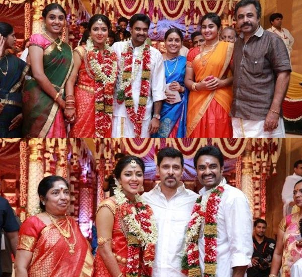 Vikram, Abbas and director Bala attend Amala Paul and AL Vijay's wedding - view pics!