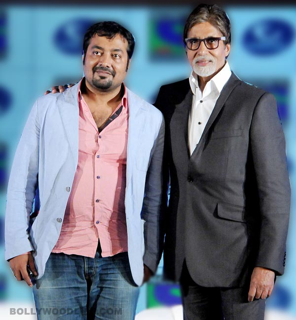 Anurag Kashyap: Amitabh Bachchan is taking chances and redefining himself