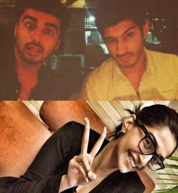 Arjun Kapoor parties with Sonam Kapoor and Mohit Marwah on his birthday - View inside pics!