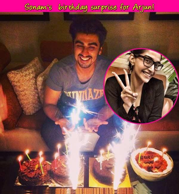 Sonam Kapoor rings in Arjun Kapoor's birthday- Watch video!
