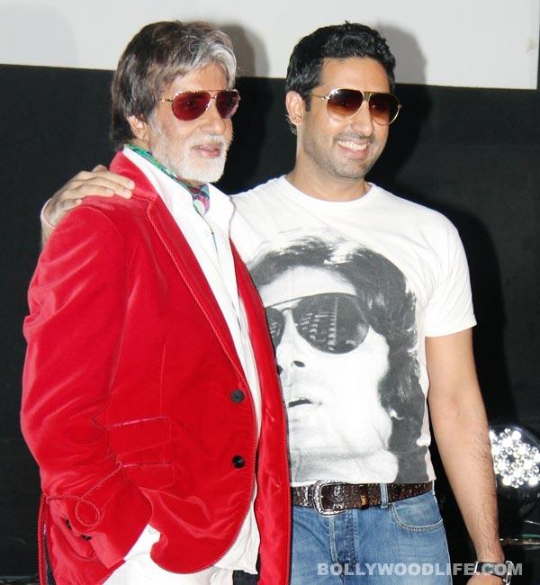 Amitabh Bachchan had a boy's night out with Abhishek Bachchan on his marriage anniversary