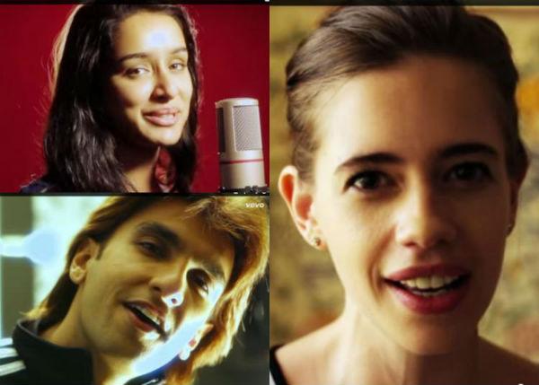 Why are Shraddha Kapoor, Ranveer Singh and Kalki Koechlin humming the same tune?