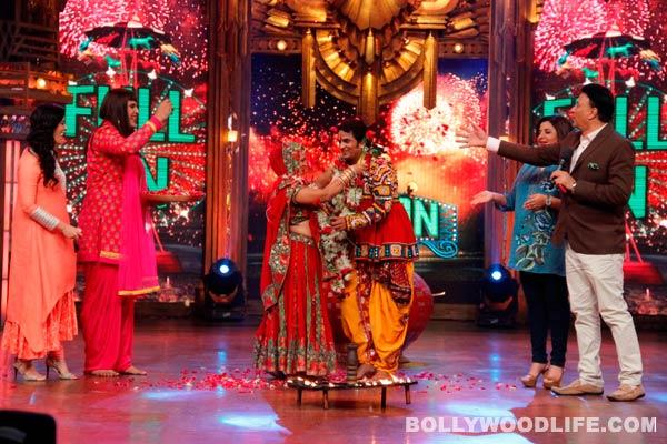Entertainment Ke Liye Kuch Bhi Karega: Anu Malik and Farah Khan get contestants married on the show– view pics!