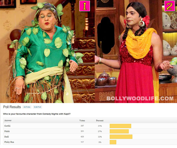 Comedy Nights with Kapil result: Dadi wins over Gutthi in BollywoodLife poll!