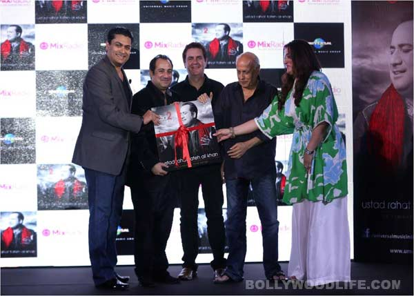 Mahesh Bhatt launches Rahat Fateh Ali Khan's new album Back 2 Love