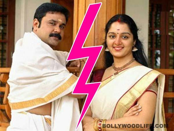 Kerala star couple Dileep-Manju Warrier head for divorce
