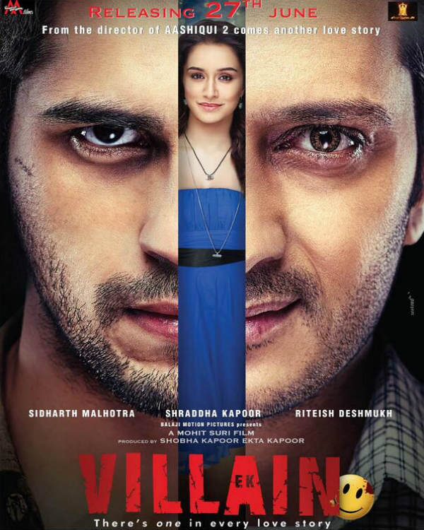 Ek Villain quick movie review: Shraddha Kapoor acts well, but Sidharth Malhotra is unconvincing as an action hero!